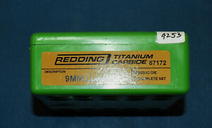 Redding 9mm Luger T.C.-Die-(87172)-NEW