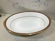NEW Noritake GOLDEN TRIBUTE Oval Vegetable Bowl - Bone China - NEW IN BOX