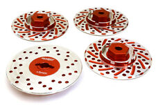 RC Car C27170RED Alloy 44mm Brake Disc 12mm Hex +3 Offset for 1/10 Size RC Drift
