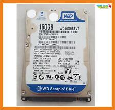 """Disco Duro Western Digital Blue 160GB 2.5"""" Hdd Sata WD1600BEVT / 50014EE2AE"""