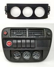 Climate Control Gauge Pod 1996-1998 Honda Civic (all) 3-holes plate delete 97 EK