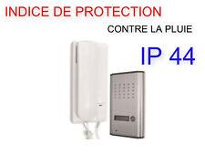 Siance interphone filaire audio 2 fils combiné interphone audio portier 2 fils