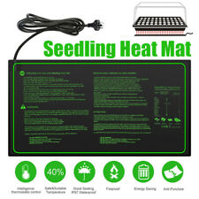 10x20'' Seedling Heat Mat Waterproof Seed Hydroponic Pad Germination Propagation