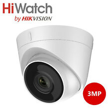 Hikvision (Hiwatch) 3MP Outdoor and Indoor Dome Camera with 40m IR Night Vision