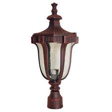 DELUXE CHIANTI FINISHED OUTDOOR POLE PILLAR LIGHT LIGHTING LAMP OTA0223-21P
