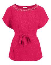 Monsoon Rima Jacquard Hand-embellished Top