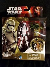 "Star Wars First Order Stormtrooper Armor Up - 3.75"" Action Figure Hasbro"