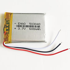 600mAh 3.7V 503040 3 wires Lipo Battery rechargeable For MP3 DVD GPS Bluetooth