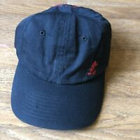 Vintage Walt Disney World cap hat New Black With Red Mickey Mouse