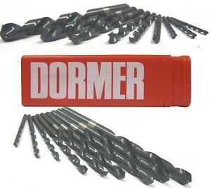 DORMER JOBBER DRILL DRILL BITS FOR STEEL / METAL 8.2MM TO 13.0MM METRIC A100 HSS