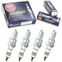 4pcs 03-10 Honda ST1300 NGK Iridium IX Spark Plugs 1261cc 76ci Kit Set Engin xd