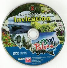 Invitation to Poland V. 2 (DVD disc) Zaproszenie do Polski cz. 2 POLSKI POLISH
