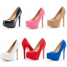 Women's Pump Shoes Stilettos High Heel Wedding Party Platform Pump Dress Shoes