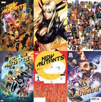 New Mutants #1 First Print Artgerm Bagley 1:10 1:25 X-Men Marvel