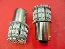 2x Chrysler Dodge Plym Jeep 1156 #89 Red Interior Courtesy LED Light Bulb Lamps