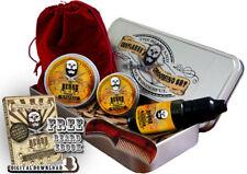 Whiskey on Rocks Beard Grooming Gift Set, Mustache Wax,Beard Balm, Oil,Comb,Case