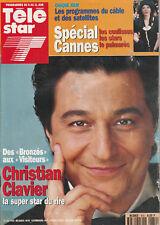 """Télé Star N°870 - 31 Mai 1993 - Christian Clavier - """"La Princesse Elisabeth"""""""