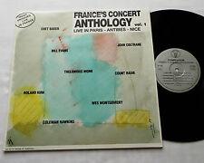 FRANCE CONCERT ANTHOLOGY Vol.1(Live Paris,..)COLTRANE-C.BAKER... FRENCH LP NEW!!