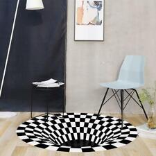 3D Vortex Illusion Living room Rug Carpet Floor Door Best Mat Quality High V7M6
