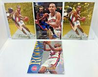 Grant Hill 4 Card ROOKIE Lot 1994-95 Upper Deck SP Foil, NBA Hoops & Fleer Flair