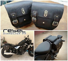 HONDA CMX REBEL 500 300 2017 SADDLE BAG SIDE FRAME COVER FAIRING LEATHER GENUINE