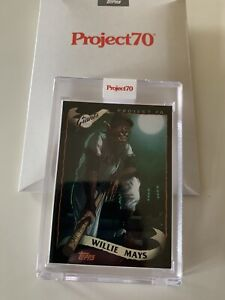 2021 Topps Project 70 #177 2002 Willie Mays ALEX PARDEE IN HAND SHIPS SAME DAY