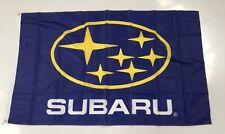 Subaru Style 2 Banner Flag Car STI WRX Impreza Racing Mechanic Workshop Man Cave