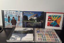 Lot of 5 Christian Music CDs: Chant, Worship, Children's Sampler