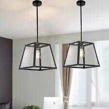2X Bar Ceiling Lights Kitchen Lamp Glass Pendant Light Bedroom Pendant Lighting