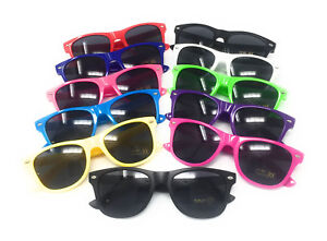 WHOLESALE KIDS Sunglasses Boys Girls Shades Black Childrens Classic BULK Glossy