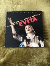 Madonna Evita Criterion Collection US Laserdisc Box Set Rare