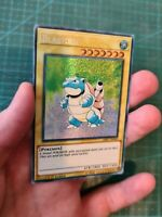 Handmade Blastoise Turtok Custom Card In Holo Yugioh Orica Proxy