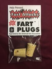 Fart Plugs Gag Gift Funny Stocking Stuffer White Elephant Party Joke Prank