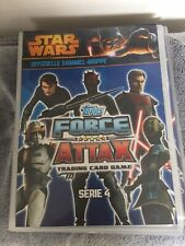 STAR WARS Force Attax Serie 4 Sammelmappe inkl. 166 Karten