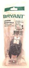 Bryant Locking Receptacle 70620FR, 20 Amp 250 Volt-New