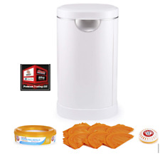 New, Munchkin Diaper Pail Baby Registry Starter Set, Powered by Arm and Hammer