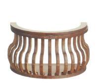 Puppenhaus Balkon Rund S Curve Laser Schnitt Holz Galerie 1:12 Maßstab