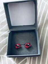womens earrings Rollings Stones