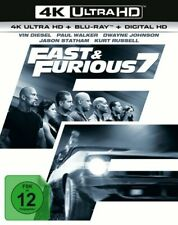 fast & Furious 7 4k Ultra HD und BLURAY