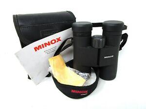 Minox BD 10x42 BR Binoculars with Case - Instructions - Germany - 10 x 42 -