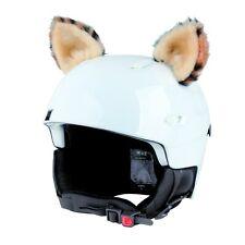 Stick-on ears for skiing helmet - Lynx - ski bike Decoration Cover kid ear kids