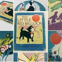 The Little Red Balloon HC 1st Edition: Volland Sunny Book Series 1918 Hofman 014
