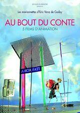 """DVD NEUF """"AU BOUT DU CONTE"""" 5 films animation marionnettes / Eric VANZ DE GODOY"""