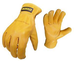 DeWalt DPG31-XL Goatskin Driver Gloves,( XL Size)