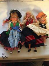 1950s Vintage Collectible Doll Euro European Blonde Housewife Antique Unique lot