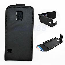 Magnetic Flip Leather Protector Pouch Cover Case For Samsung Galaxy S5 S V i9600