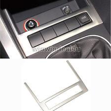 STAINLESS STEEL CAR STORAGE BOX USB PANEL REFIT TRIM COVER FOR VW JETTA MK6