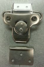 STAINLESS Large Surface Mount ATA Spring Marine Twist Butterfly Latch CHEAP S/H
