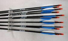 Carbon Express Thunder Express Youth Fiberglass Arrows 1/2 Dz White/Blue