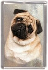 Pug Fridge Magnet No 1 by Starprint